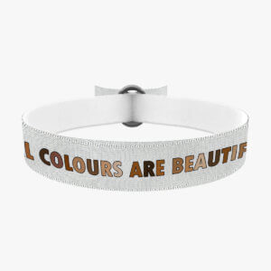 All colurs are beautiful Stoffband